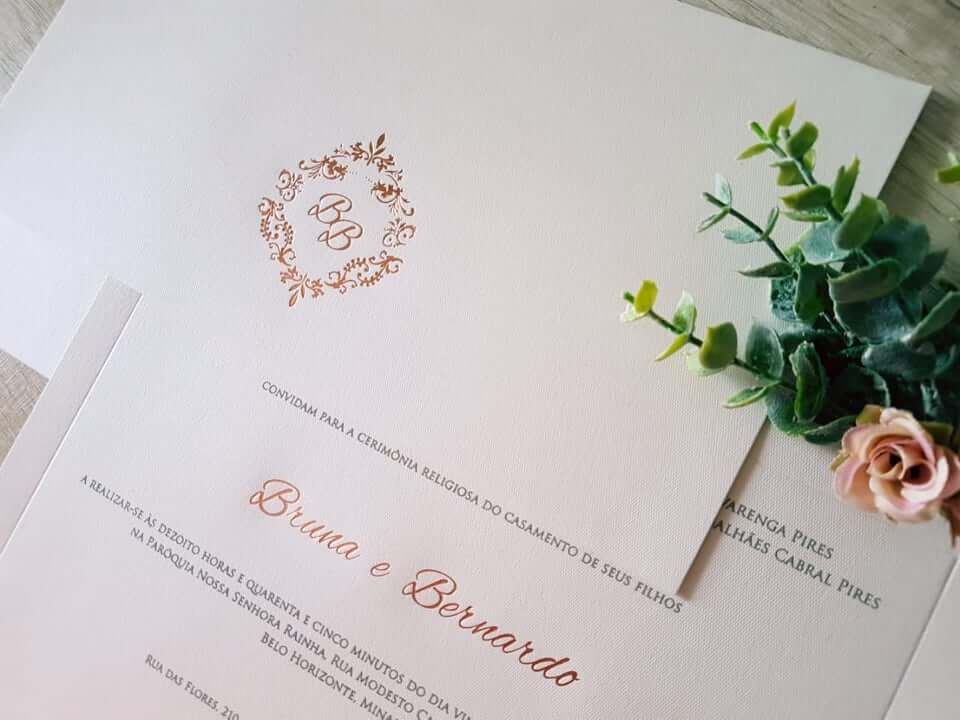 Casamento, as melhores opções de convite